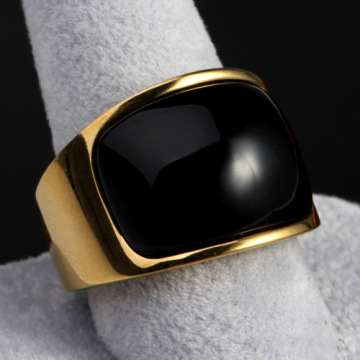 Đàn ông Dance Gold Big Gemstone Ring