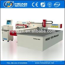 380mpa et pompe d'intensificateur 420mpa machine de découpage à jet d'eau 1500x3000