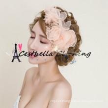 Acessórios de cabelo de noiva para casamento / acessórios de cabelo flor para mulheres / acessórios para cabelo por atacado