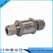 Fabricante de válvulas de verificação de bolacha de placa única de alta pressão
