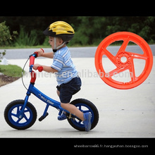 """poids léger 12 """"PU mousse solide roue bébé poussette roue roue de bicyclette"""