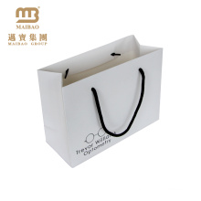 Guangzhou Factory Supplier Custom Printing Retail Rigid Paper Shopping Gift Bag With Your Logo
