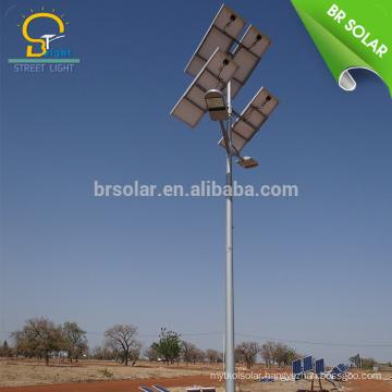 solar street light 12v 10w 30w power secure by electricity led garden light
