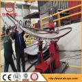 dish end flanging machine