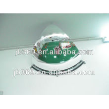 high visibility PC quarter safety DOME mirror/Convex dome mirror