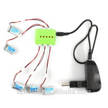 H20 battery 5 in 1 Balance Charger 5Pcs 3.7V 150mAh 30C Battery Set for Remote Control JJRC H20 Hexacopter