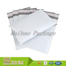 Emballages rembourrés d'enveloppe de courrier de bulle de Poly blanc d'expédition rapide bon marché durable de courrier d'individu d'usine