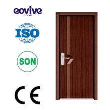 Maßgenaue pvc beschichtetem Holz Tür