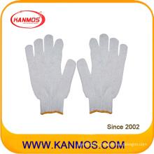 Дешевые трикотажные хлопчатобумажные перчатки для промышленной безопасности (61001TC)
