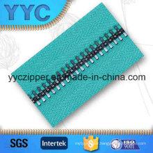 #8 Round Teeth Coating Long Zipper Metal for Wholesale