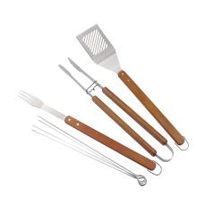 Набор инструментов для барбекю из нержавеющей стали профессионального уровня из 7 предметов