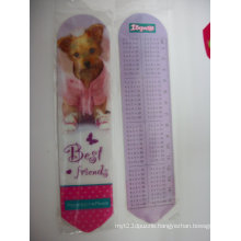 2015 Wholesale Unique 3D Lenticular Ruler