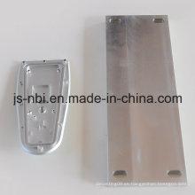 Placa soldada de aluminio para automóviles