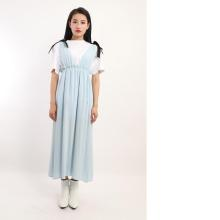 LADIES VISCOSE LONG DRESS