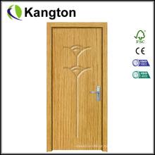 Porta popular do PVC do MDF do projeto da alta qualidade (porta do PVC do MDF)