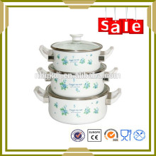 as seen ason TV 2016 new product enamel mini casserole set for food cooking