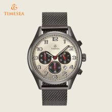 Reloj cronógrafo Fabricante Precio de relojes de acero occidental 72401