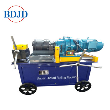 Hot sale steel threading rebar thread rolling machine