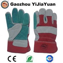 Gants de travail en cuir résistant à la chaleur anti-égratignures