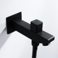 Black Wall mounted Thermostatic Bathroom Shower Faucet Set