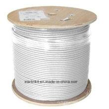 High End CAT6A UTP LAN Cable 10 Gigabit White