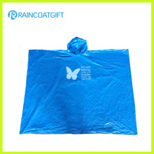 Promotional Disposable PE Rain Poncho Rpe0711-01