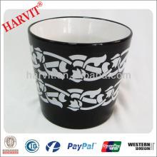 Vietnam Home Decor Ceramic Pot Garden Pot Planter/Black Pottery Flower Pots Wholesale/Hot New Products For 2014 ceramic f Pot