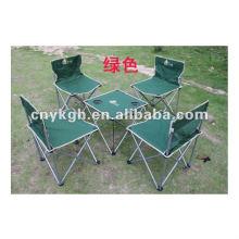 conjunto de mesa e cadeira dobrável portátil VE-9018
