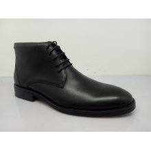 Black Mens Lace Ankle Boots (NX 537)