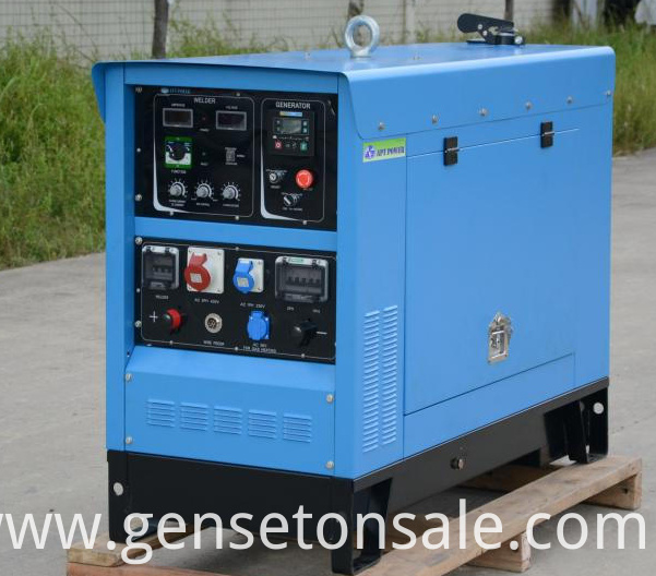 DC Welding Generator Set Powered By Perkins Engine MMA