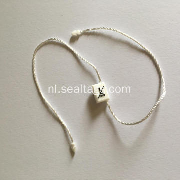 Kleding Plastic Seal String Hang Tag
