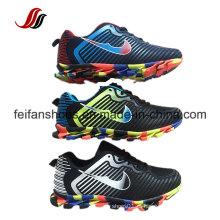 Sapatas confortáveis do esporte de Althletic, sapatilhas quentes das vendas com parte superior do plutônio, tênis de corrida exteriores