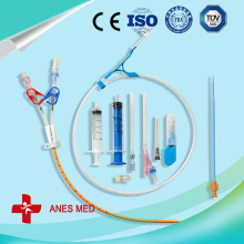 Antimicrobial dialysis catheter kit