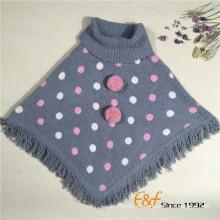 Suéter de cuello alto de señora fashion suéter de cuello alto