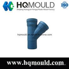Plástico 45 Degree Lateral Tee Flared Fitting Molde de inyección
