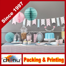 Ginger Ray Chevron Bunting Hanging Party Dekoration (420026)