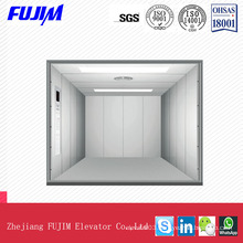 Speed 0.5m/Ssafe Freight Elevator with Checkered Steel