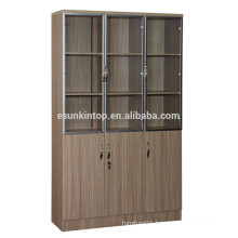 Wooden book shelf for office used, Commerical office furniture (KB843)