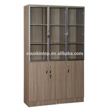 Prateleira de madeira para escritório usado, mobiliário de escritório comercial (KB843)