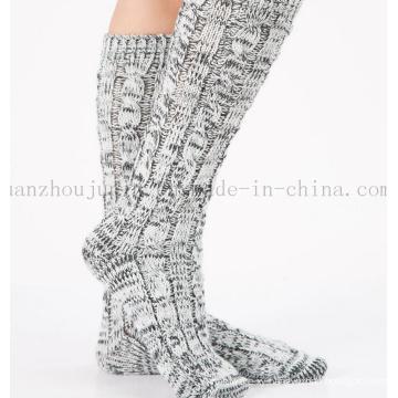 OEM Hot Sale Winter Warm Wool Woven Room Socks