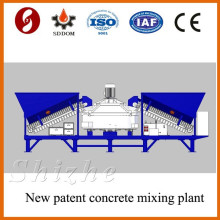 MD1200 ready mixed concrete batching plant low freight cost