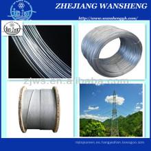 Ehs Cable de acero galvanizado de 1/4 '' Alambre de sujeción Wire ASTM A475 Clase a