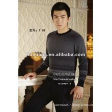 зима мода свитер мужской 100% кашемир вяжет