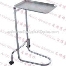 Hospital Stainless Steel Mayo Table For Nursing