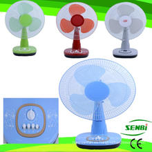 Ventilador colorido del ventilador del ventilador de mesa de 16 pulgadas DC 12V DC (SB-T-DC40O)