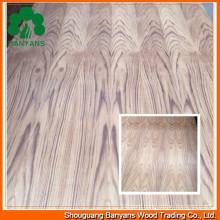 Raw/Plain Wood Veneer Plywood for Decoration