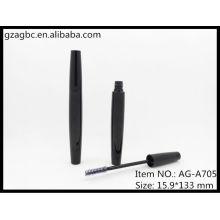 Glamorosa y vacío plástico en forma de especial Mascara tubo AG-A705, empaquetado cosmético de AGPM, colores/insignia de encargo