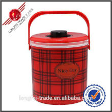 2 Stück Set Kunststoff Wärme Erhaltung Lunch Box-Lfs10022