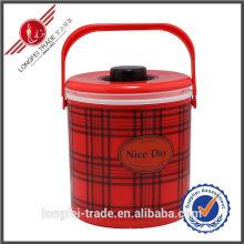 2 PCS definir caixa de almoço de preservação de calor de plástico-Lfs10022