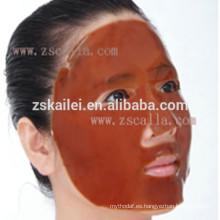 máscara de hierbas facial de cristal de colágeno